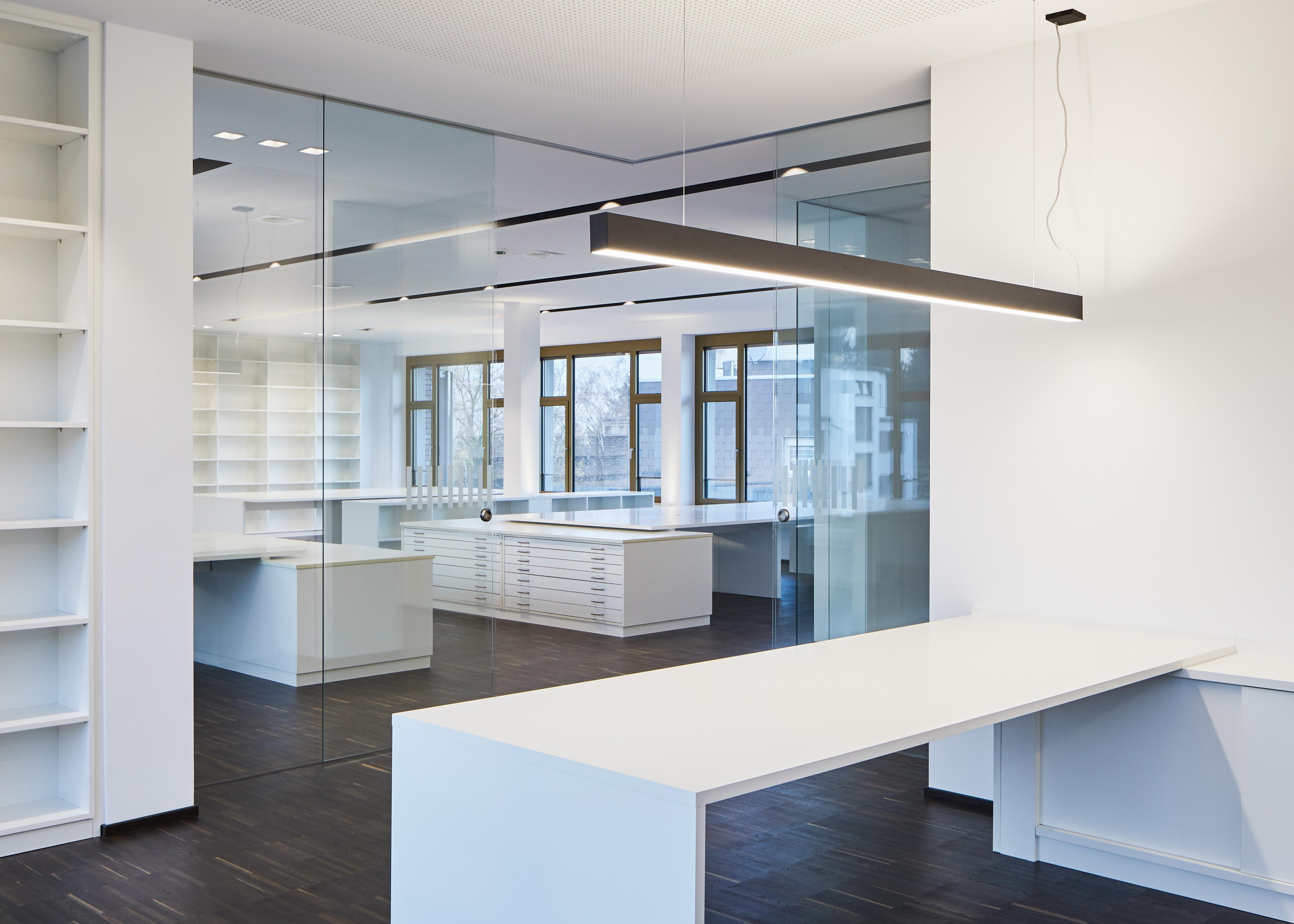 Modernes Büro, Thormählen Bildungshaus, Büro, Großraumbüro