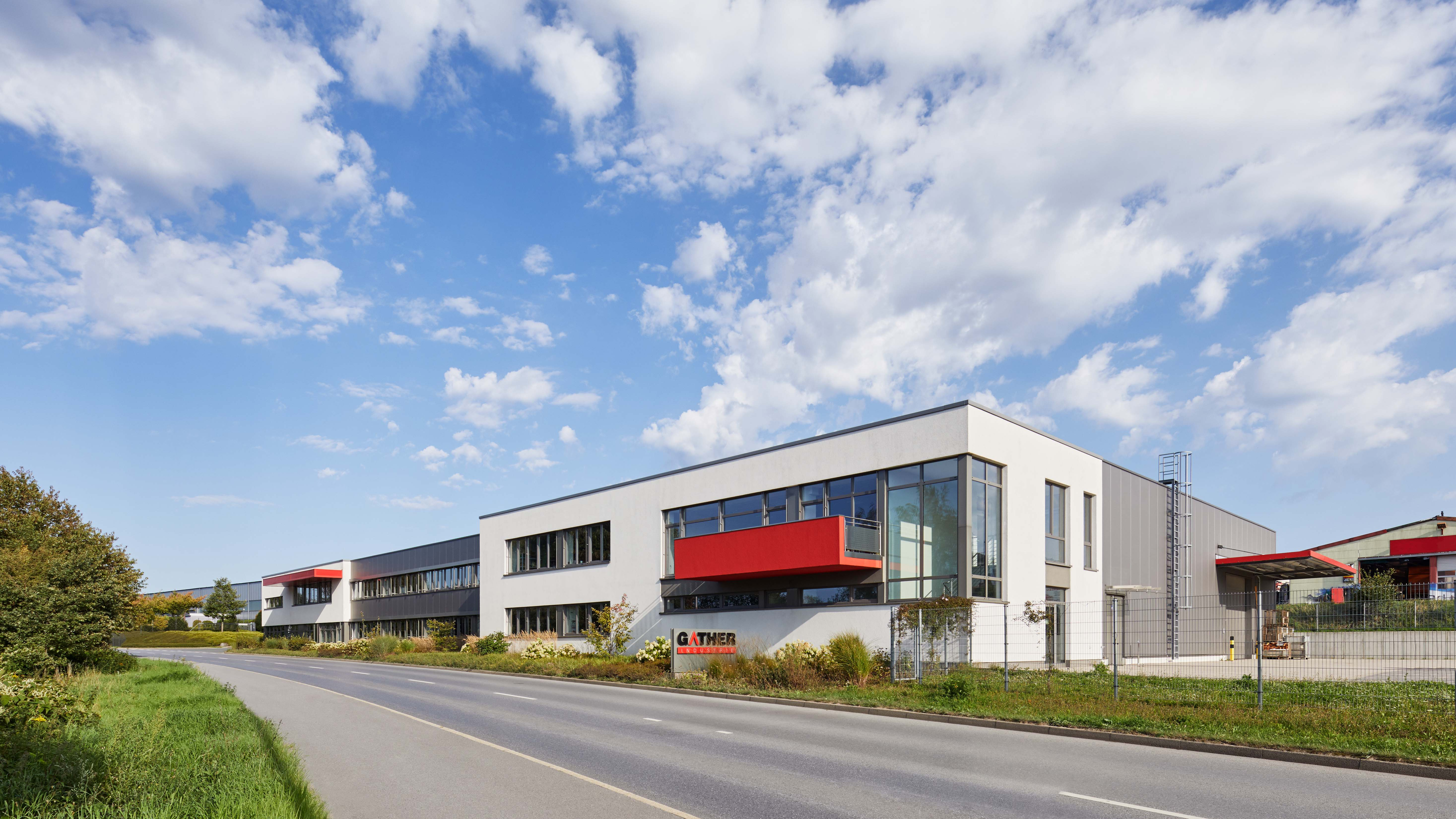Gather Wülfrath Architekturbüro Schönborn+ Hölscher Industriebau Gewerbe