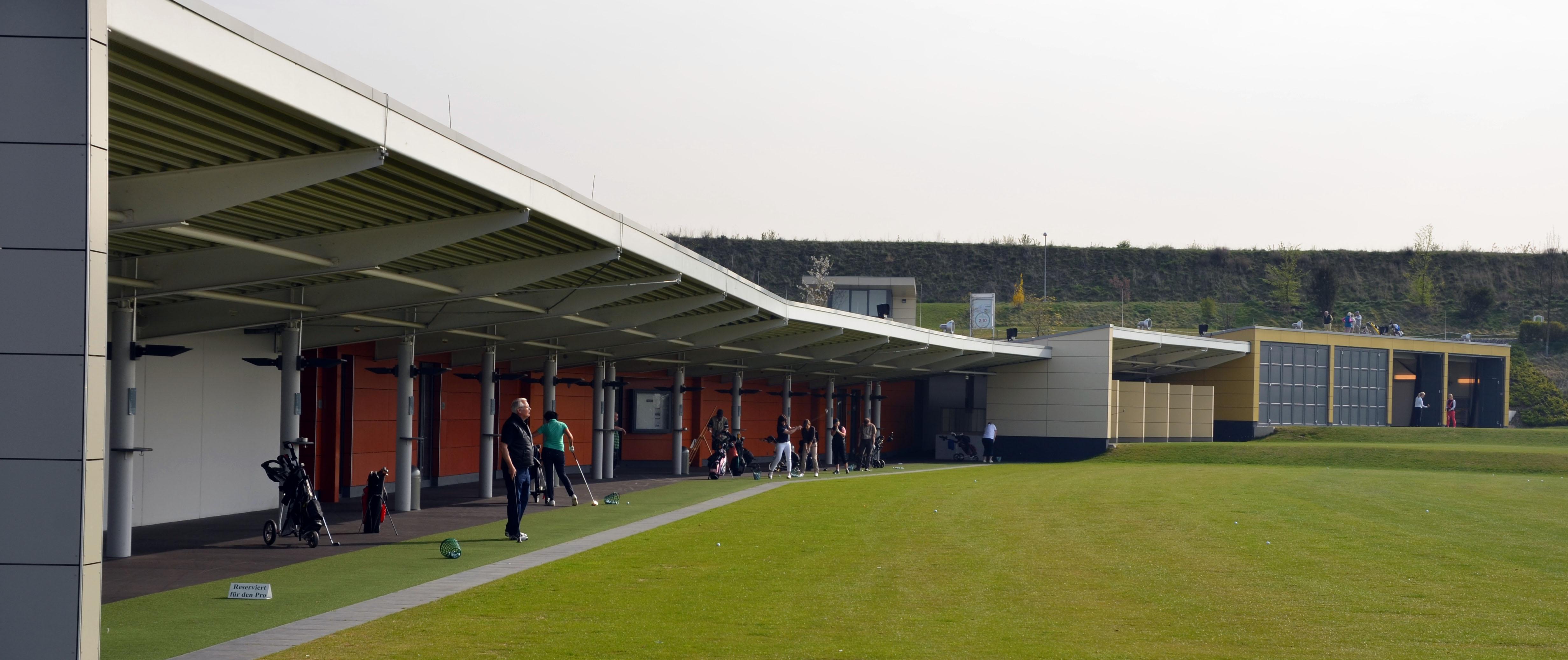 Kölner Golfclub, Driving Range, Architekturbüro Schönborn+ Hölscher