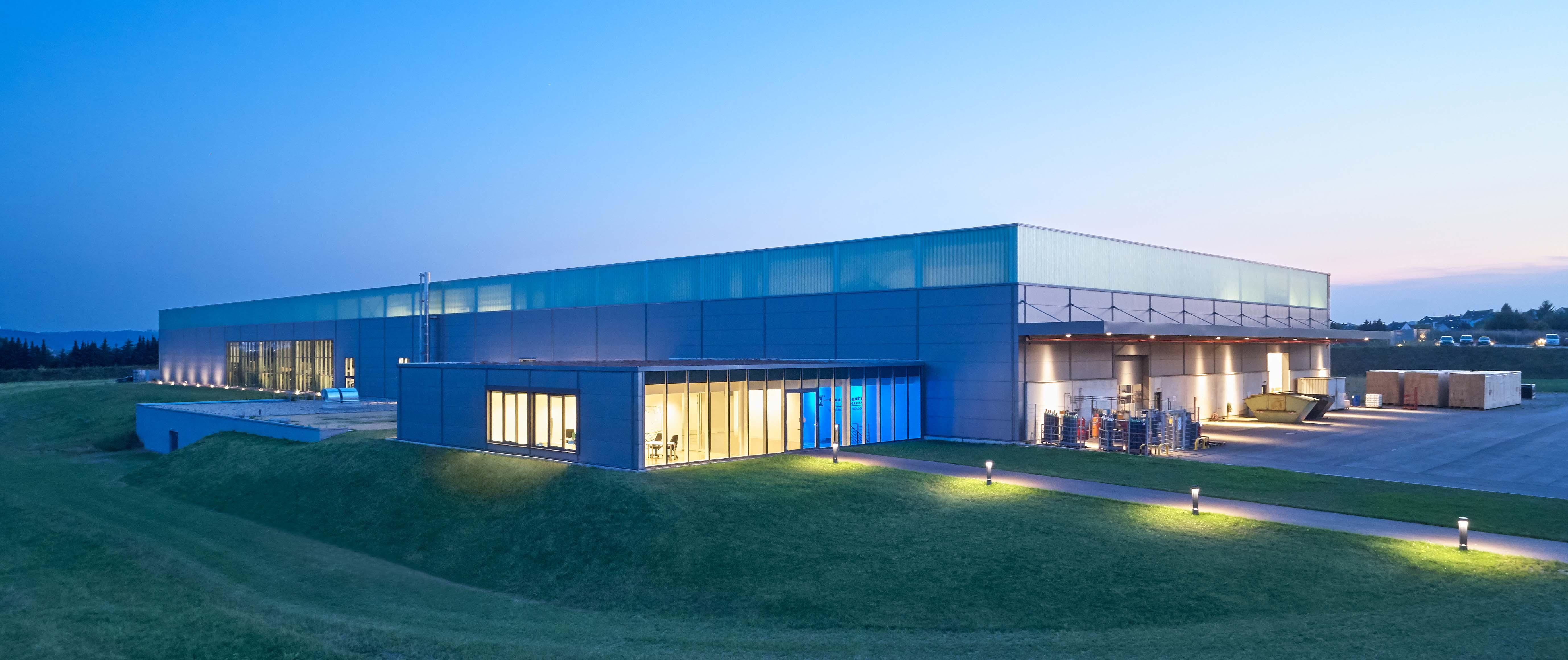 Gewerbebau, Neubau eines Industriestandortes, Putsch GmbH, Architekturbüro Schönborn+ Hölscher