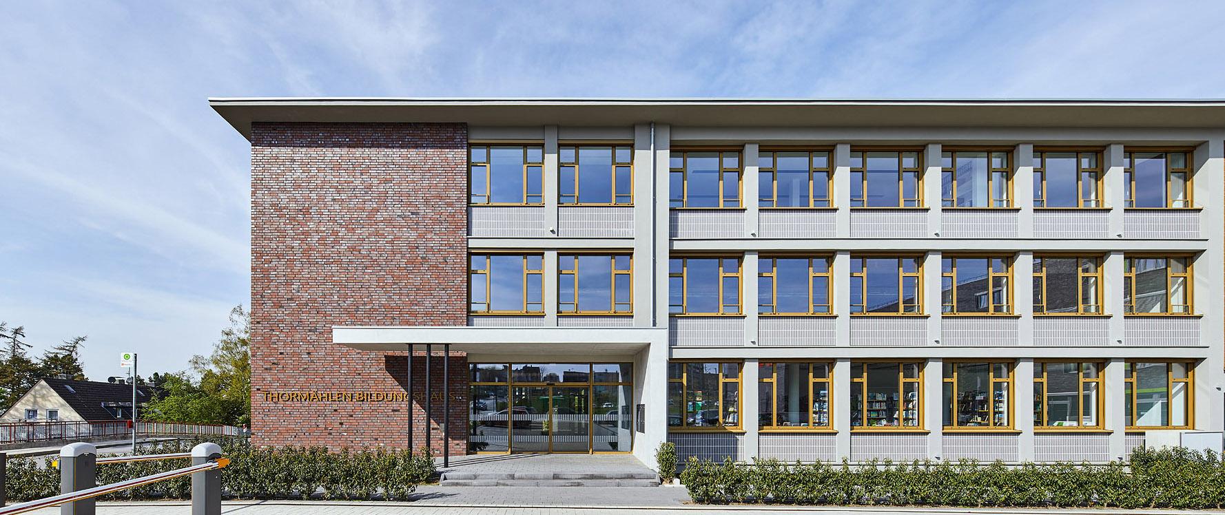 Thormählen Bildungshaus, Heiliegnhaus, Bauen im Bestand, Umbau, Bürogebäude, Architekturbüro Schönborn+ Hölscher